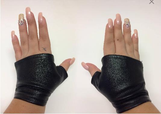 STRETCH Mitten Gloves BLACK