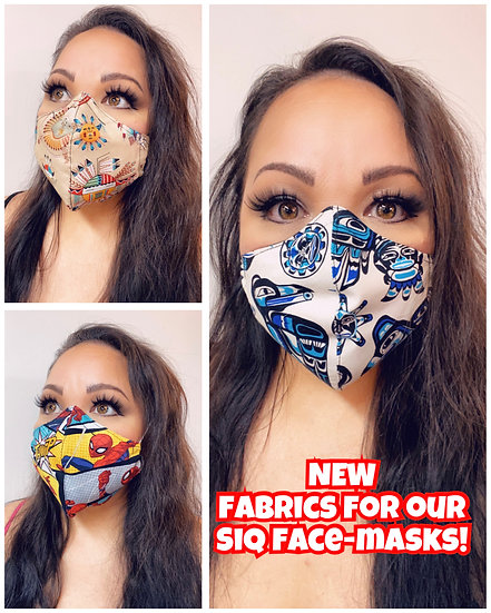 Various Cotton face masks 2