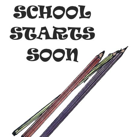 School is back!