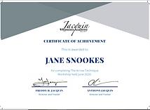 Arrow technique certificate June 2020.pn