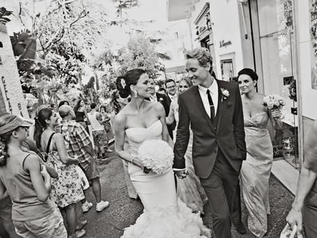 Doug and Lara Wed in Capri, Italy