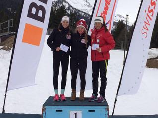 Anja Lozza gewinnt U18 Fis Rennen in Campra