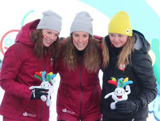 Nadja Kälin holt Silbermedaille am EYOF in Sarajevo