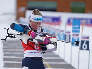 Alessia Laager siegt in der Biathlonarena Lenzerheide
