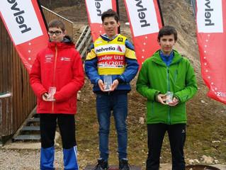 Nico Zarucchi gewinnt Gesamtwertung in der Nordischen Kombination