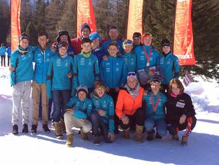 Erfolgreiche EN-Athleten an der U14 / U16 SM im Val Ferret
