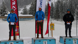 Starkes Engadin Nordic Team in Campra