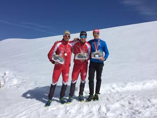 Staffel vom SC Alpina St. Moritz holt die 8. Medaille für Engadin Nordic