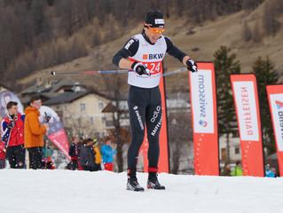 Maurus Lozza ist Junioren Schweizermeister über 30 Km