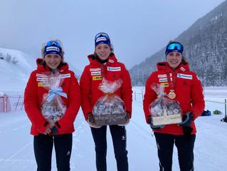 12 SM Medaillen für das Engadin Nordic Team