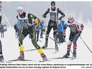 Engadiner Talent schlägt norwegische Langlauflegende
