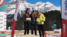 Anja Lozza holt SM-Gold im Sprint