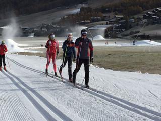 Engadin Nordic Team trainiert in Livigno