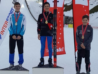 Nico Zarucchi gewinnt Nordische Kombination