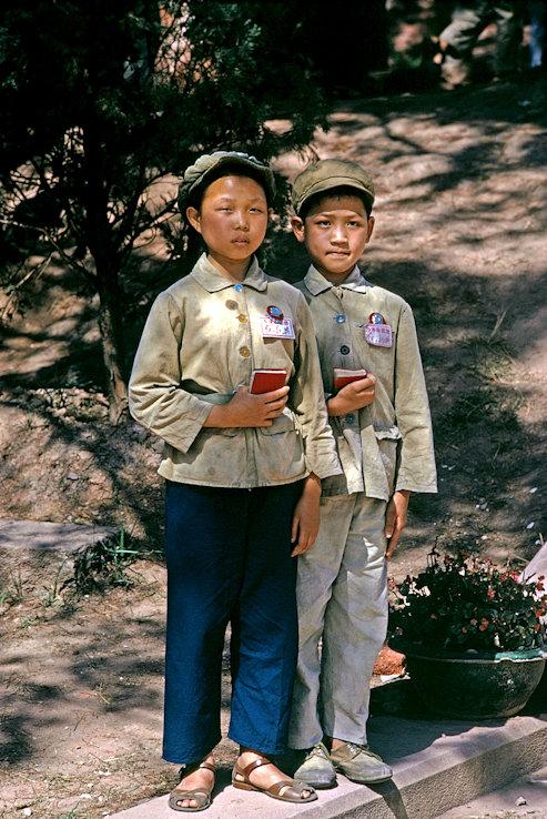 JEUNES CHINOIS EN 1971