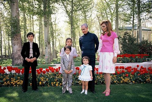 LA FAMILE IMPERIALE D'IRAN