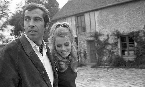 Roger Vadim et Jane Fonda 01