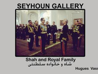 Exposition le Shah et la famille royal d'Iran Hollywood