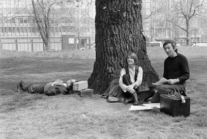 Françoise Hardy et Serge Gainsbourg