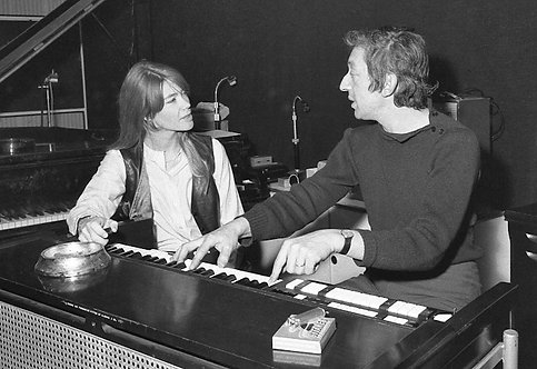 FRANCOIS HARDY et SERGE GAINSBOURG 02