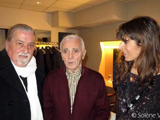 Retrouvailles avec Charles Aznavour