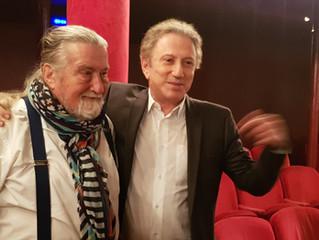 """""""Oui Hugues je présenterai ton livre dans mon émission"""""""