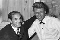 Charles-Aznavour-Johnny-Hallyday-Portrai