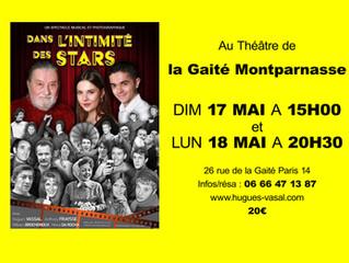 Le spectacle Dans l'intimité à Paris