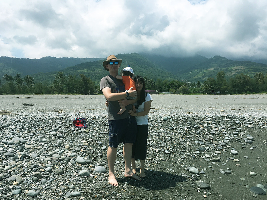 Family at Taimali Beach