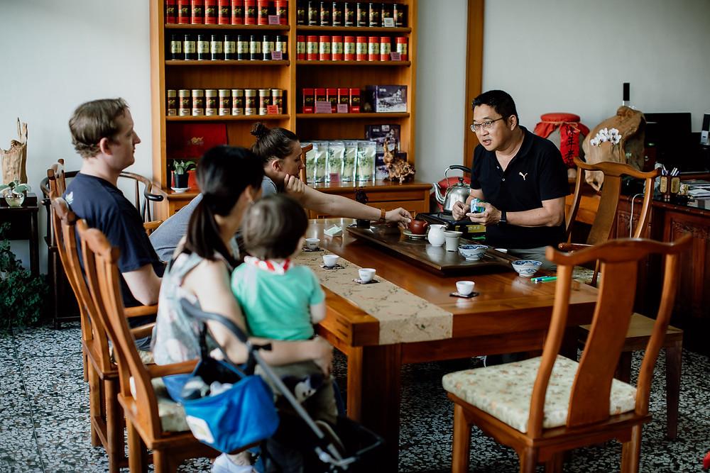 Formosa Tea tasting