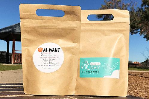 Organic Assam teabags 30 pk