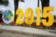 2015 Nantou Global Tea Expo sign