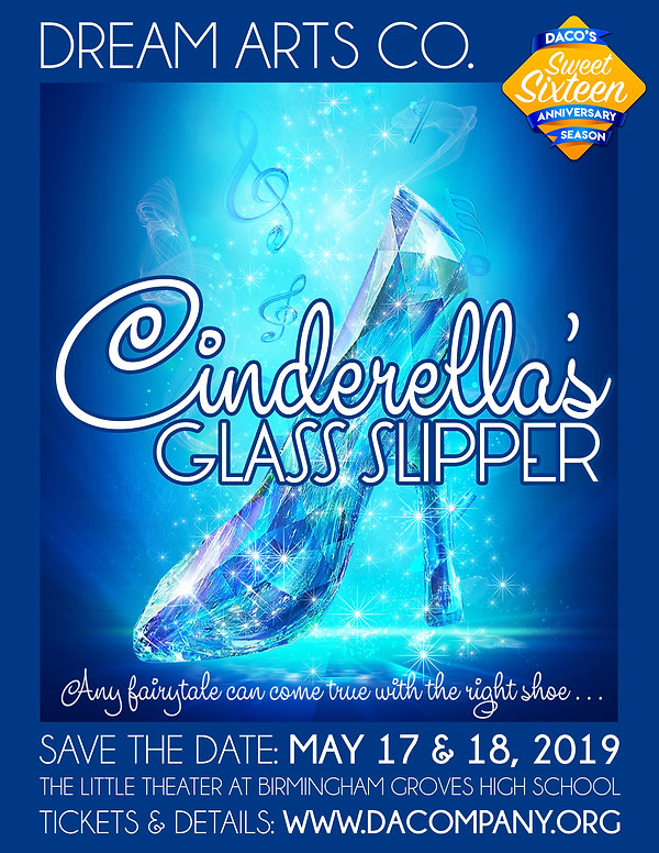 Cinderellas Glass Slipper Save The Date