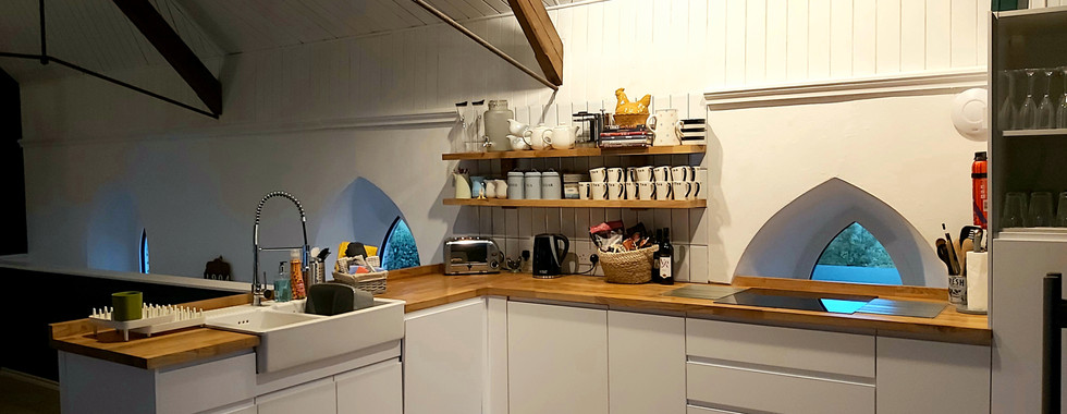 Equipped Kitchen North Devon Self Catering