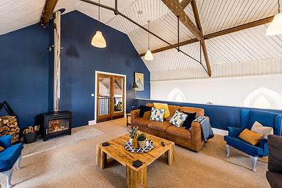 Living North Lake Chapel Holiday Cottage Devon Open Plan