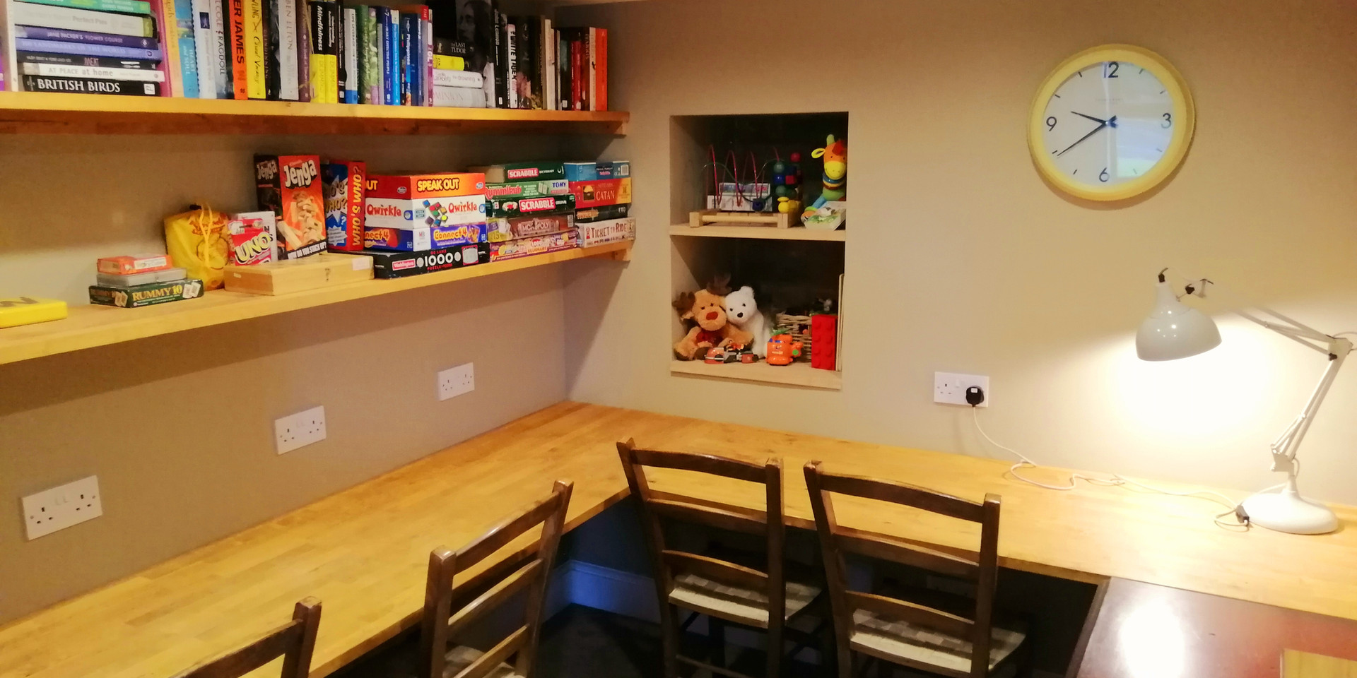 Office/games area