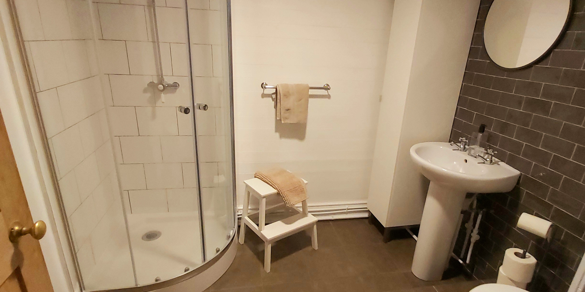 Shower room, ground floor