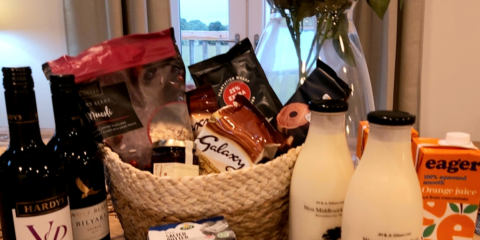 Welcome Basket North Devon Self Catering