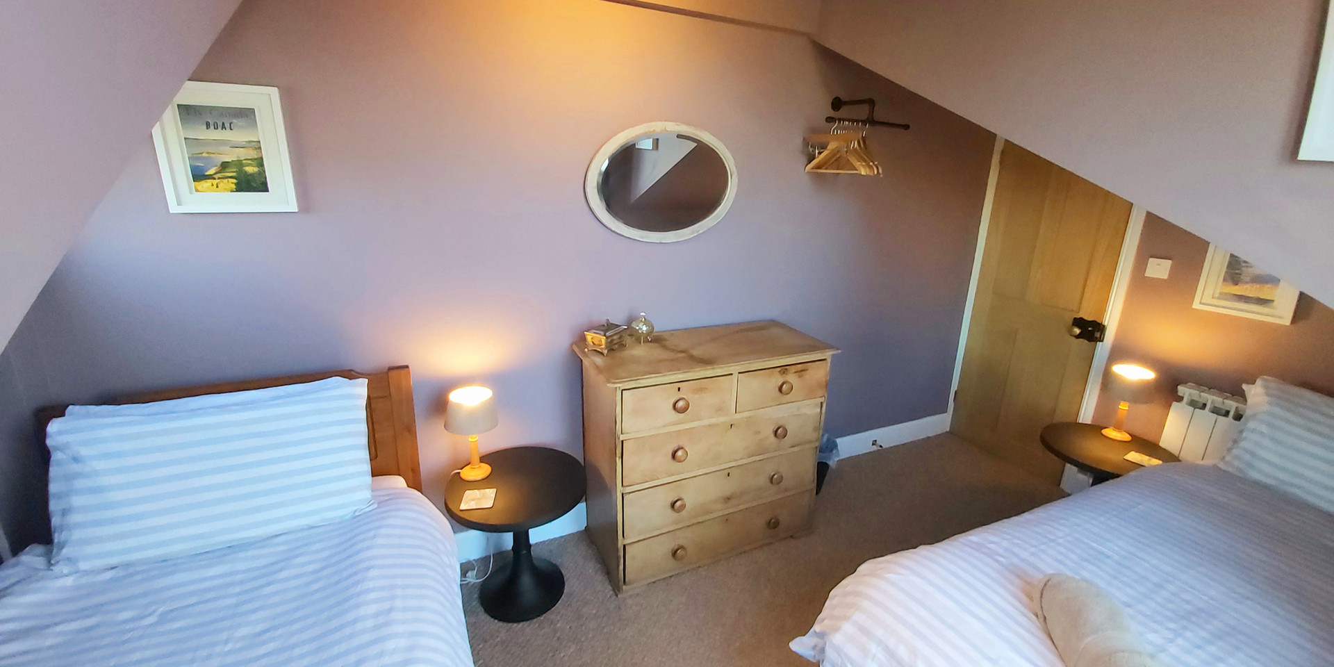 Bedroom 3, sleeps 2