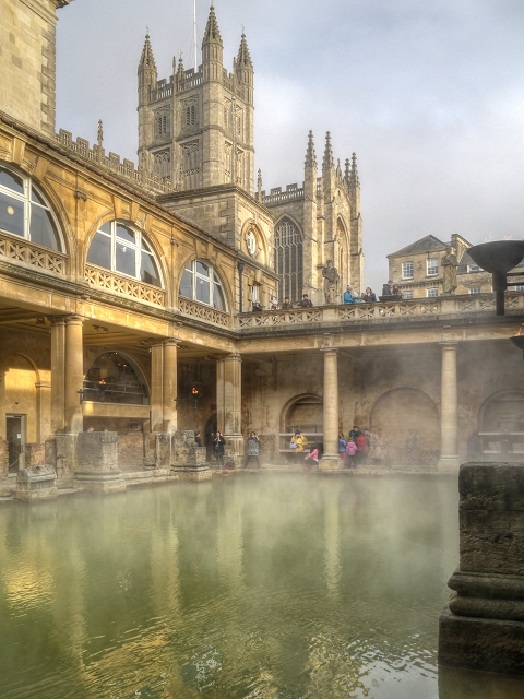 Roman Baths, Visit Bath