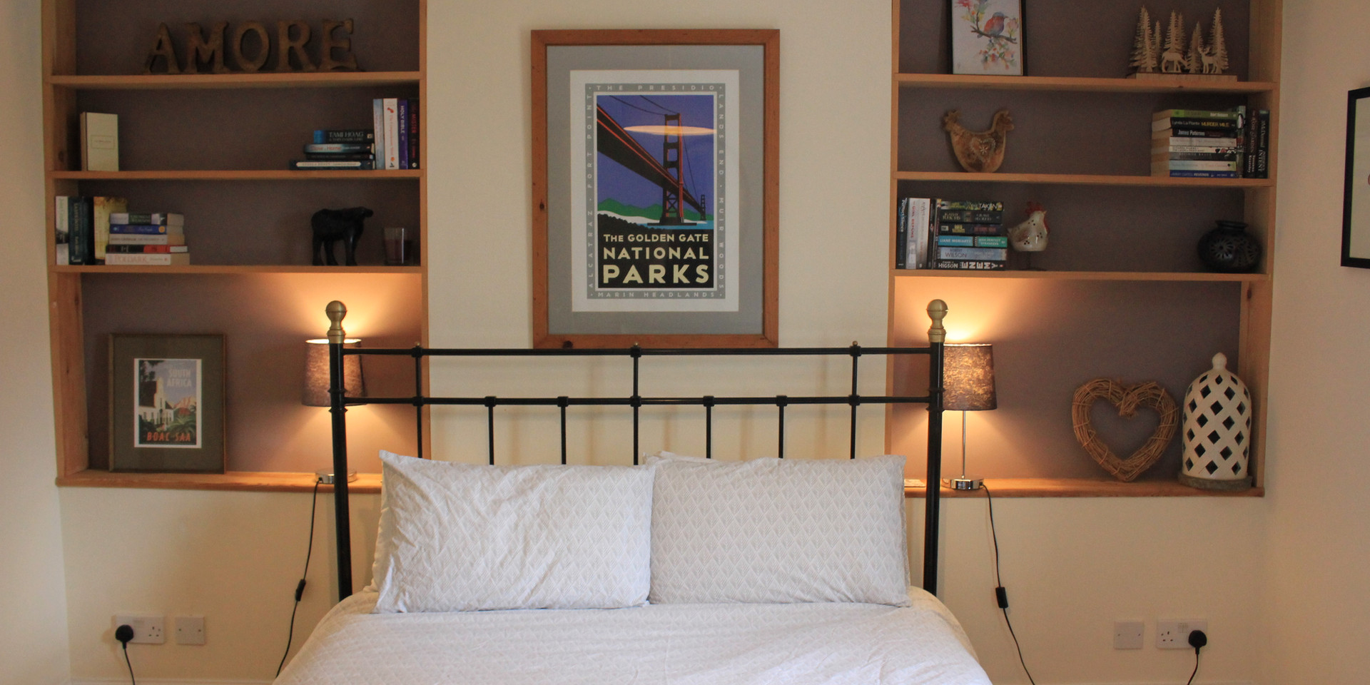 Bedroom 1, sleeps 3