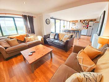 Open plan living room Mews Cottage