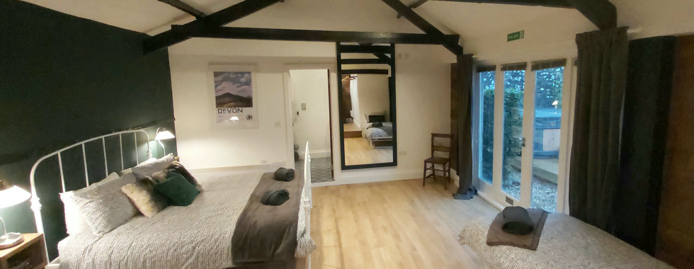 Luxury bedroom North Devon Holiday Self Catering