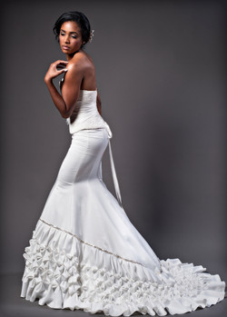 Wedding corset and skirt