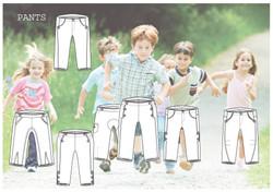 kids pants colection