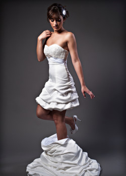 Transformable wedding dres