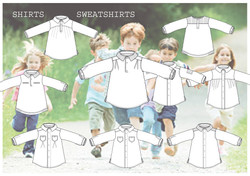 Kids shirts colection