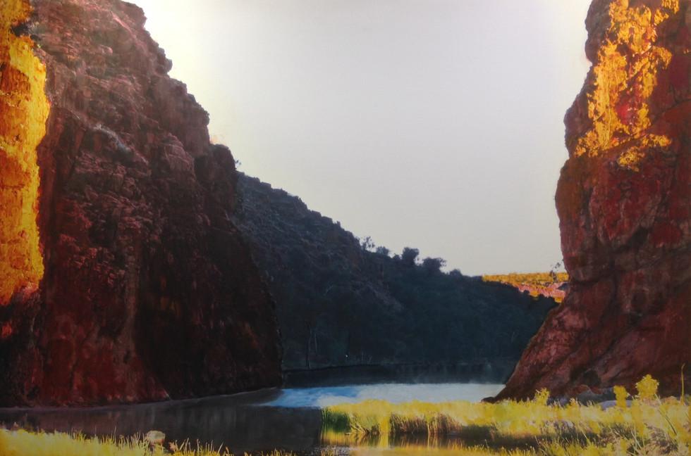 Glen Helen Gorge - In the footsteps of Namatjira