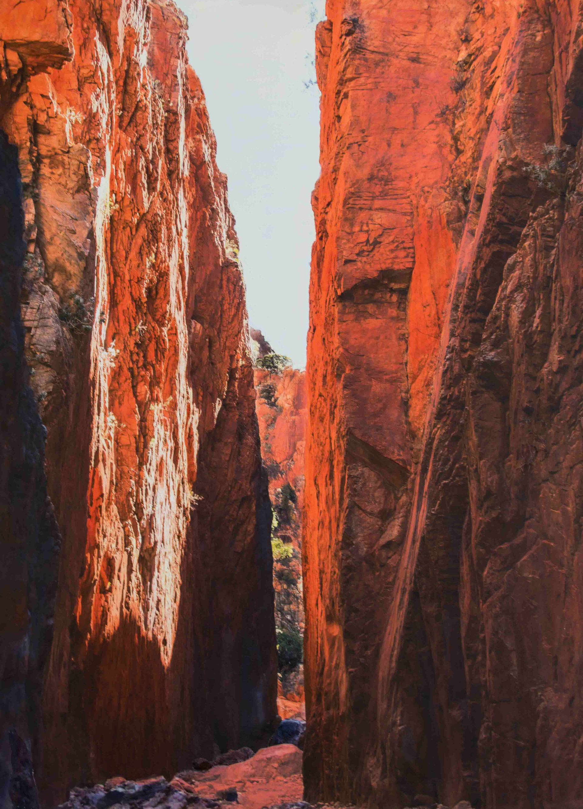 Standley Chasm - In the footsteps of Namatjira
