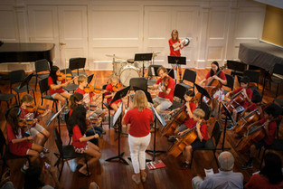 Assisting the Summer Music orchestra in concert as the Orchestra Manager at the Rivers School Conservatory